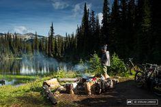 Andrew Shandro in Revelstoke, British Columbia, Canada