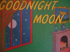 Goodnight Moon by Margaret Wise Brown pictures by Clement Hurd. Hardcover 1982. by MarginaliaBooks on Etsy