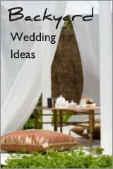 GREAT COST SAVING TIPS Choose from backyard wedding ideas for an at home wedding