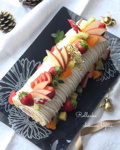 """620 mentions J'aime, 16 commentaires - nao (@nao.chikuwa) sur Instagram : """"2016/12/23☆ . . 一応、我が家用のクリスマスケーキ 今年は簡単にロールデコに。 . それにしてもしつこいデコになってしまった。 . #なんかピントもあやしい? . . .…"""""""