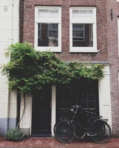 One of the countless homes in The Netherlands - we lived in one quite similar