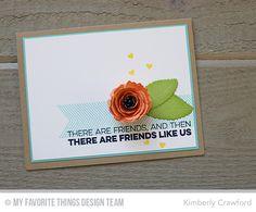 Royal Rose Die-namics, Royal Leaves Die-namics, Grassy Edges Die-namics, Friends Like Us Stamp Set, desert Blooms Stamp Set - Kimberly Crawford #mftstamps