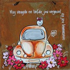 Mag vrede en liefde jou vergesel op jou lewensreis - deur Anthea Art __[AntheaKlopper/FB] #Afrikaans #BesteWense Sweet Quotes, Cute Quotes, Afrikaanse Quotes, Cosmos Flowers, Goeie More, Special Images, Wale, Diy Art Projects, Ceramic Painting