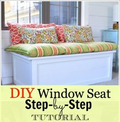 DIY Window Seat Tutorial