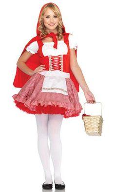 Teen Little Red Riding Hood Costume - Teenage Costumes