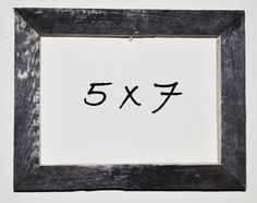 5 x 7 Driftwood Picture Frame 105 by DriftwoodMemories on Etsy, $19.95