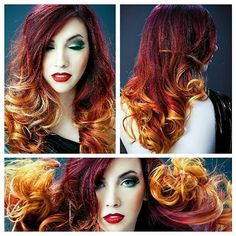 Hair insperation for those who loves ombre s