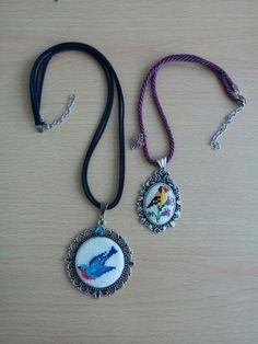#etaminkolye#etamintakı #elemeği #goznuru #handmade #kuşlar