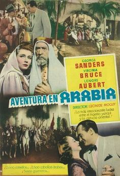 "Aventura en Arabia (1944) ""Action in Arabia"" de Léonide Moguy - tt0036579"