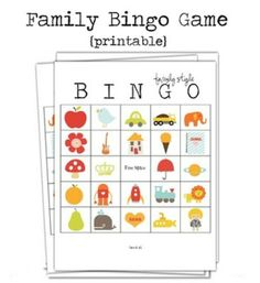 49 Printable Bingo Card Templates