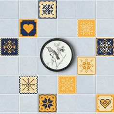 Self-adhesive Tiles Stickers Waist Line Kitchen Wall Sticker PVC Floor Wallpaper Home Decor Bright Color If You get more ideas click picture . Wall Stickers Grass, Wall Stickers Wallpaper, 3d Mirror Wall Stickers, Floor Wallpaper, Kitchen Wall Stickers, Kids Room Wallpaper, Wall Decal Sticker, Mosaic Wall Tiles, Mosaic Diy