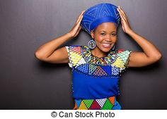 african model in traditional attire posing Zulu Traditional Attire, African Models, Stock Foto, Royalty Free Images, Captain Hat, Poses, Costumes, Fashion, Carnival