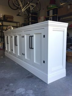 DIY Restoration Hardware Sideboard/TV Stand - Frills and Drills, tv stand decor, Tv Stand Sideboard, Tv Stand Cabinet, Console Cabinet, Credenza, Media Cabinet, Sideboard Buffet, Tv Stand Decor, Diy Tv Stand, Build A Tv Stand