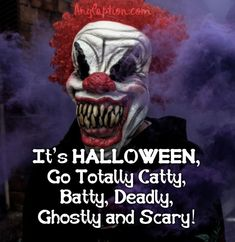 Spooky-Halloween-Captions-Images Spooky Halloween, Halloween Costumes, Halloween Captions, Scary, Joker, Fictional Characters, Scary Halloween, Halloween Costumes Uk, Im Scared