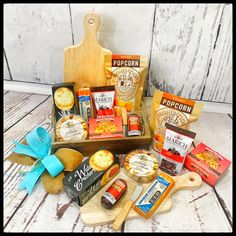 Great way to send a little a Thank You, Thinking of You or Keep in Touch gift to clients, employees, and family! Gourmet Gifts, Thinking Of You, Tray, Touch, Thinking About You, Trays, Board