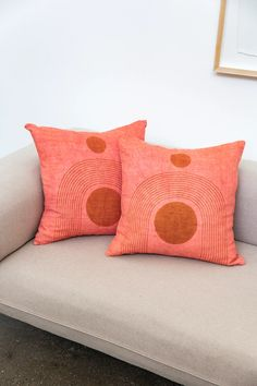 Textiles from Indie Boutiques Linen Pillows, Throw Pillows, Bed Linen, Hammer And Chisel, Welcome To The Family, Color Studies, Accent Pillows, Pillow Inserts, Printing On Fabric