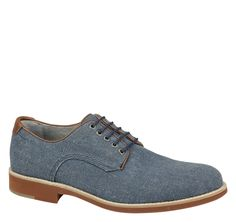 Ellington Linen Plain Toe - Johnston & Murphy