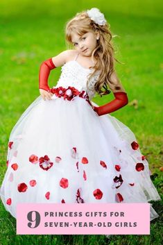 We all know how much princesses are loved in a little girl's world. Here are 9 perfect princess gifts for the seven year old princesses in your life. Disney Princess Toddler, Disney Princess Costumes, Disney Princess Dresses, Princess Outfits, Girl Outfits, Princess Gifts, Ice Princess, Birthday Girl Dress, Birthday Dresses