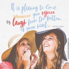 Laughing is good! #laugh #laughmore #laughfromthebottomofyourheart #wisewords #quote #greatquote #inspirationalquote #martinluther #encouragement #laughter