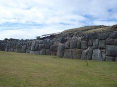 Inca ruins of Sacsayhuaman, in Cuzco, Peru