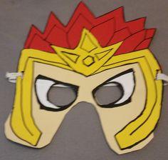 Laval Maske zum selbst basteln. How to make a Laval Mask. DIY