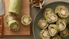 These crowd-pleasing cheesy roll-ups are loaded with flavor and can be made ahead for easy entertaining.