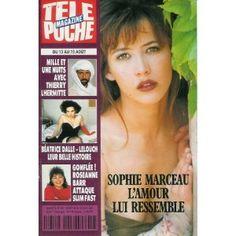 Sophie Marceau : l'amour lui ressemble, dans Télé Poche n°1487 du 08/08/1994 [couverture isolée et article mis en vente par Presse-Mémoire]