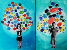 2016 More – Kindergarten Lesson Plans Kindergarten Drawing, Kindergarten Art Lessons, Art Lessons Elementary, Preschool Photography, Classe D'art, Collaborative Art, Arte Pop, Camping Crafts, Preschool Art
