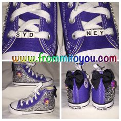Bubble Guppies Custom Converse by From Mi To You. www.frommitoyou.com #junkchucks#customconverse