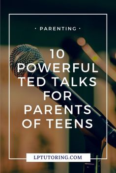 10 Powerful TED Talks for Parents of Teens Parenting is SO hard, especially when your kids are teenagers! Get some inspiration and advice from these 10 TED Talks for parents! Raising Teenagers, Parenting Teenagers, Parenting Classes, Parenting Books, Parenting Humor, Parenting Advice, Parenting Styles, Foster Parenting, Gentle Parenting