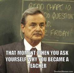 Image result for teachers leaving profession meme