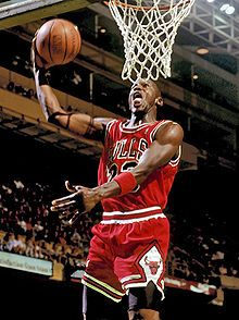 One of the greatest basketball players of all time Micheal Jordan.