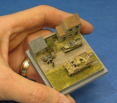 It's A Small World! A Daily Dose for from the Michigan Toy Soldier… Minis, Model Tanks, Military Modelling, Model Train Layouts, Toy Soldiers, Model Building, Art Model, Small World, Plastic Models