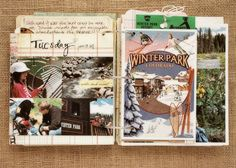 WIP Blog: scrapbook on the road