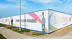 Hoarding Design, Disruptive Innovation, Innovation Centre, Office Branding, Commonwealth Games, In Pursuit, Economic Development, Gold Coast, Roller Banners