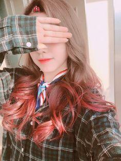 Gowoon 💜 Berry Good, Kpop Girls, Ulzzang, Girl Group, Berries, Actresses, Hair Styles, Singers, Beauty