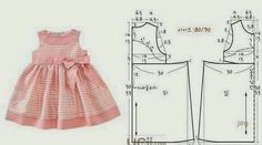 Super Sewing For Kids Clothes Little Girl Dresses Simple Ideas Little Dresses, Little Girl Dresses, Sewing For Kids, Baby Sewing, Fashion Kids, Fashion Sewing, Baby Outfits, Kids Outfits, Baby Dress Patterns