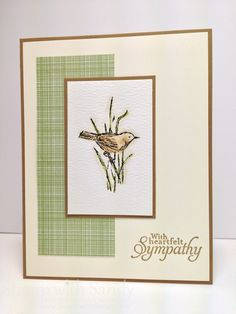 Simply Sketched, Baked Brown Sugar*, Very Vanilla, Watercolor Paper Designer Series Paper: Gingham Garden*, Stamp with Sandy: