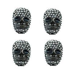 Amazon.com: Mandala Crafts Gunmetal Infinity Wholesale Pave Shamballa Jewelry Making Rhinestone Charm Beads: Arts, Crafts & Sewing