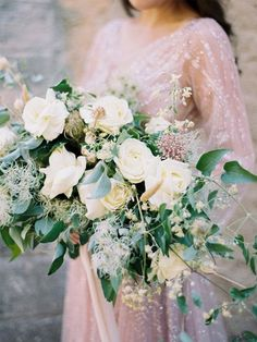 10 Fab Bouquets To Brighten Up Your Fall Day Blush Fall Wedding, Autumn Day, Clematis, Whimsical, Floral Wreath, Gowns, Wreaths, Table Decorations, Wedding Dresses
