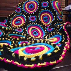 Ravelry: Project Gallery for Ringtoss Afghan pattern by Barbara Worn-Wurtz