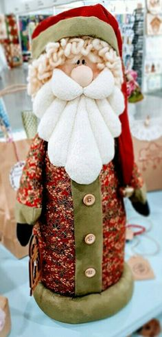 Christmas Blow Up, Christmas Picks, Christmas Sewing, Father Christmas, Felt Christmas, Xmas, Santa Crafts, Holiday Crafts, Natal Country