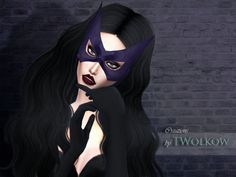 Huntress mask by Twolkow.