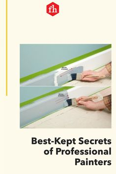 Learn how to paint like a pro and pick up some great tips for achieving a perfectly smooth and even paint job. Painting Tips, House Painting, Bungalow Renovation, Professional Painters, Diy Home Repair, Best Kept Secret, Buying A New Home, Do It Yourself Projects, Paint Colors For Home