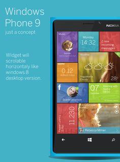 Windows Phone 9 Concept Finally Brings a Decent Shortcut Area