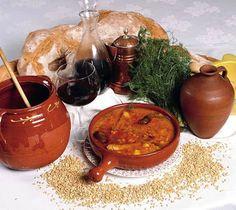 Olla de trigo (plato típico de Almeria)  http://chefquality.blogspot.com.es/2013/01/olla-de-trigo-plato-tipico-de-almeria.html