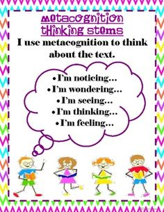 Essay thinking about thinking metacognition