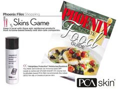PCA SKIN's Weightless Protection Broad Spectrum SPF 45 is featured in the January 2013 edition of PHOENIX magazine.