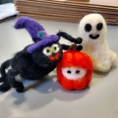 Check out this item in my Etsy shop https://www.etsy.com/listing/251636443/spooky-wool-halloween-crew