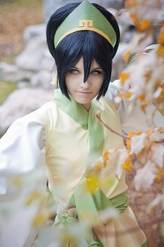 Avatar the Last Airbender Toph Beifong Cosplay Wig Toph Cosplay, Cosplay Anime, Epic Cosplay, Disney Cosplay, Amazing Cosplay, Cosplay Outfits, Cosplay Wigs, Cosplay Costumes, Broly Ssj3